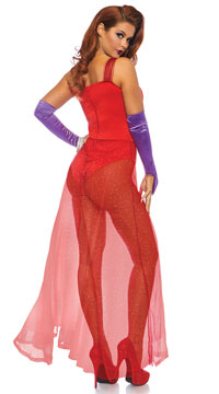 Bombshell Babe Costume - Red