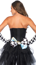 Alice Multi-Use Oversized Bow - Black/White