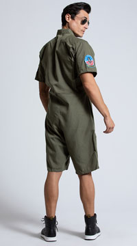 Men's Top Gun Flight Suit - Khaki