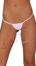 Low Rise G-String - Baby Pink
