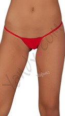 Low Rise G-String - Red