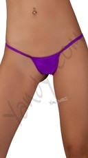 Low Rise G-String - Purple