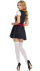 Flirty German Girl Beer Costume - Red