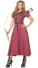 Medieval Huntress Costume