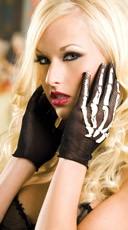 Skeleton Gloves - Black