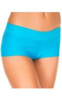 Stretch Tanga Boyshort - Turquoise