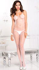 Basic Bodystocking - White