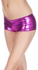Metallic Cheeky Boy Shorts - as shown