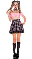 Youthful Schoolgirl Costume