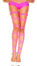 Basic Leg Wrap - Neon Pink