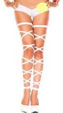 Basic Leg Wrap - White