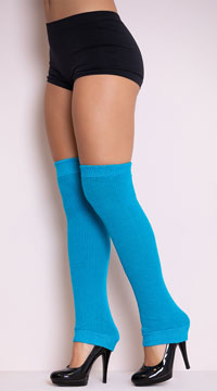 Thigh High Leg Warmers - as shown