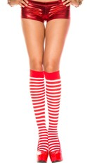 Striped Knee Highs - as shown