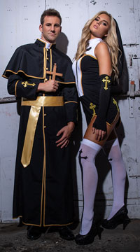 Cunning Congregation Couples Costume - as shown