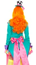 Deluxe Hatter Hottie Costume - Multicolor