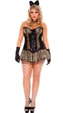 Plus Size Luscious Leopard Costume - Leopard
