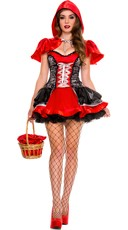 Fiery Lil Red Costume - Red