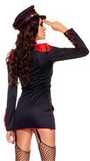 Marine Honey Costume - Black/Red