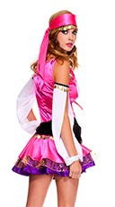 Plus Size Temptress Gypsy Costume - as shown