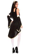 Sinfully Hot Nun Costume - Black/White