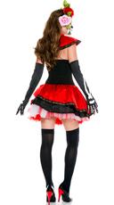 Miss Muerta Costume