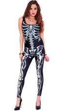 3D Skeleton Bodysuit Costume
