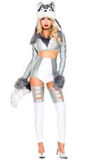 Wild Wolf Woman Costume