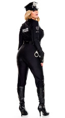 Plus Size Perverse Lieutenant Costume