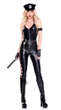 Night Shift Lady Cop Costume