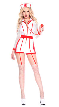 Hospital Risque Nurse Costume