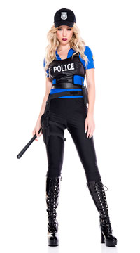 Traffic Stopper Police Costume