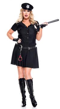 Plus Size Law Enforcer Costume