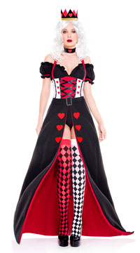 Enchanting Royal Heart Queen Costume