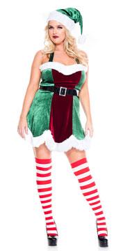 Plus Size North Pole Elf Costume