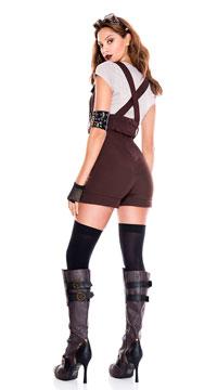 Steampunk Pilot Costume