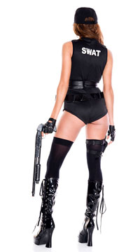 SWAT Babe Costume