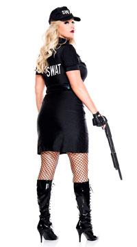 Plus Size SWAT Agent Costume