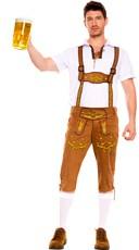 Mens Bavarian Lederhosen Costume