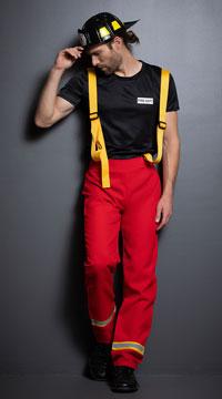 Men's Firefighter Hero Costume - as shown