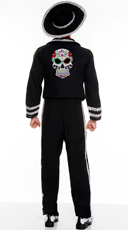 Men's Day Of The Dead Mariachi Costume