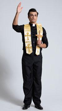 Men's Priest Costume