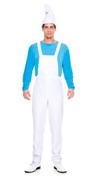 Men's Blue Buddy Costume