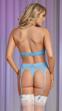 Sky Wrap Me Merrywidow Set - Light Blue