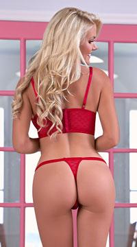 Valentina Mind Games Bra Set - Red