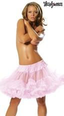 Mid Length Petticoat - Pink