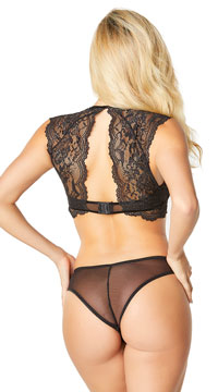 Dramatic Adelle Panty - Black