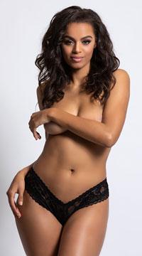 Yvette Lace Boyshort - as shown
