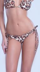 Ruched Back Bikini Bottom - as shown