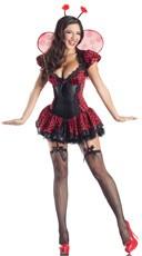 Deluxe Shaper Ladybug Costume - Black/Red