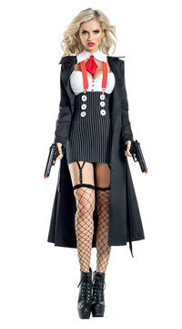 Gangster Babe Costume